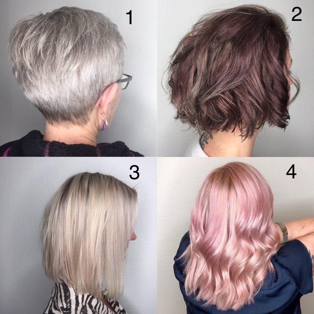 extensions i kort hår